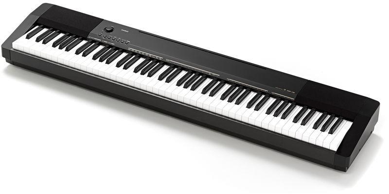 5657966aa0b Piano Digital Casio Cdp 135 C  Fonte E Pedal De Sustain - R  1.677 ...