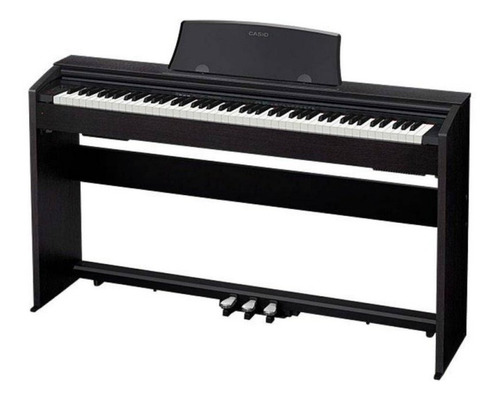 piano digital casio privia px770bk com 88 teclas bivolt pre