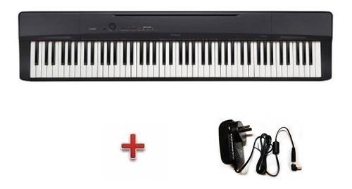 piano digital casio px160bk 7 1/2 oct.+ fuente de regalo