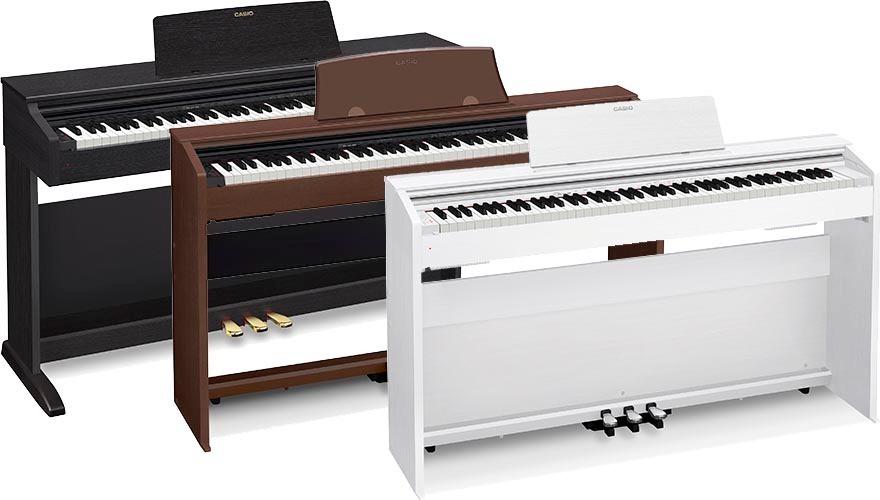piano digital casio px770 frete gr tis sul sudeste r em mercado livre. Black Bedroom Furniture Sets. Home Design Ideas