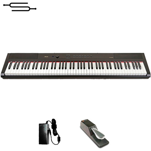 piano digital electrico artesia 88 teclas sensitivo + envio