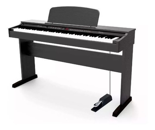 piano digital electrico rp120 88 teclas con peso + taburete