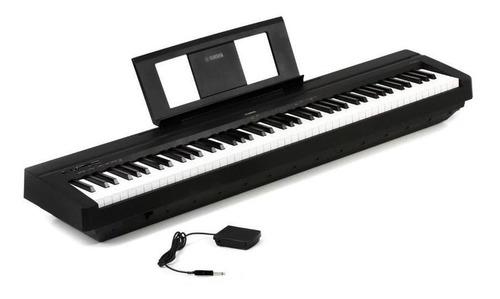 piano digital electronico yamaha p45 88 teclas