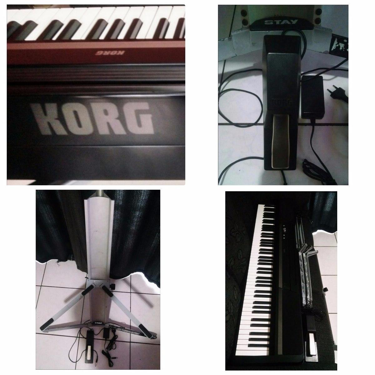 piano digital korg sp 170s r em mercado livre. Black Bedroom Furniture Sets. Home Design Ideas