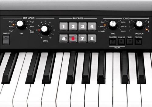 piano digital korg sv1 88 stage vinta piano digital 88 sv-1