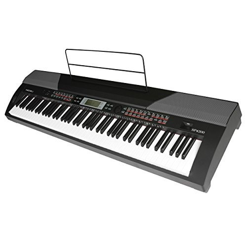 piano digital medeli sp4200 con 88 teclas de acción de mart