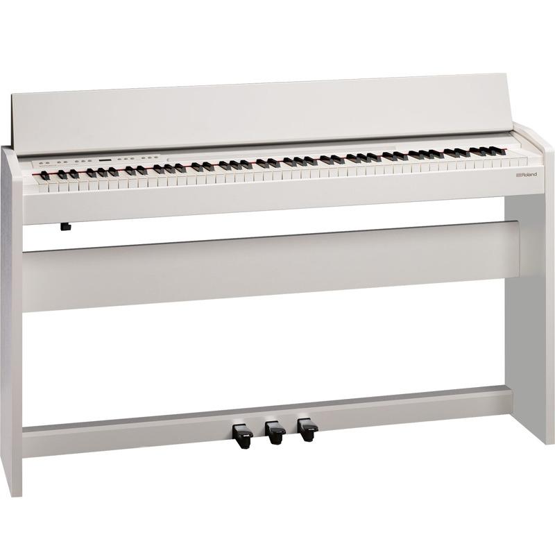 piano digital roland 88 teclas com m vel f140r whl branco r em mercado livre. Black Bedroom Furniture Sets. Home Design Ideas