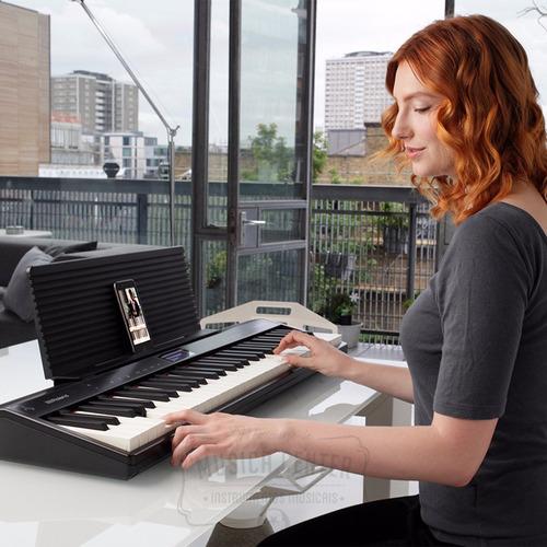 piano digital roland go piano go61p go-61p c/ bluetooth go61