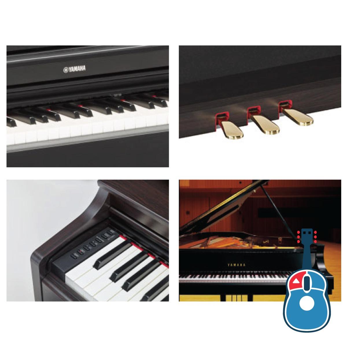 piano digital yamaha arius ydp163 r banqueta bc108 dr r em mercado livre. Black Bedroom Furniture Sets. Home Design Ideas