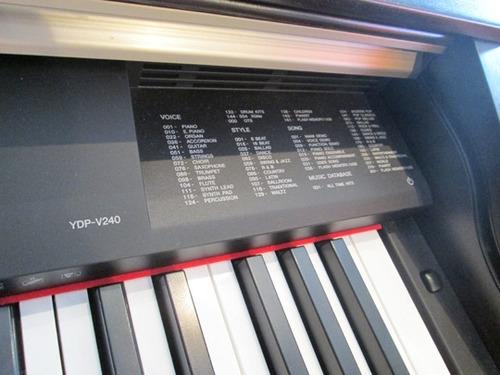 piano digital yamaha arius ydpv240 - 88 teclas en belgrano!
