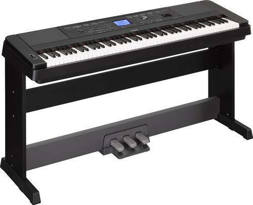 piano digital yamaha dgx-660