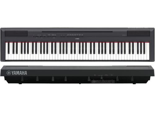 piano digital yamaha negro incluye adaptador p115bspa