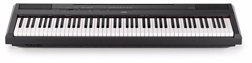 piano digital yamaha p115 black r em mercado livre. Black Bedroom Furniture Sets. Home Design Ideas