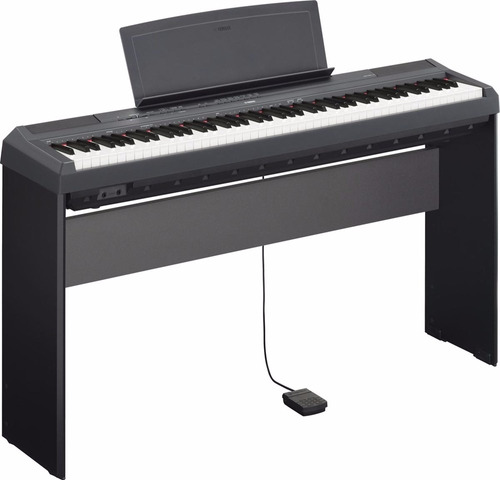 piano digital yamaha p115 + mueble + pedal + usb. citimusic