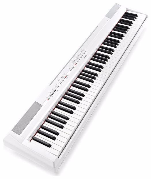 Piano digital yamaha p115 wh graded hammer nf r for Yamaha p115 piano