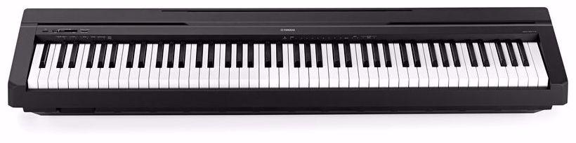 piano digital yamaha p45 loja oficial yamaha r em mercado livre. Black Bedroom Furniture Sets. Home Design Ideas