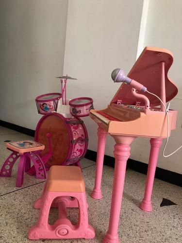 piano eléctrico de cola para niñas