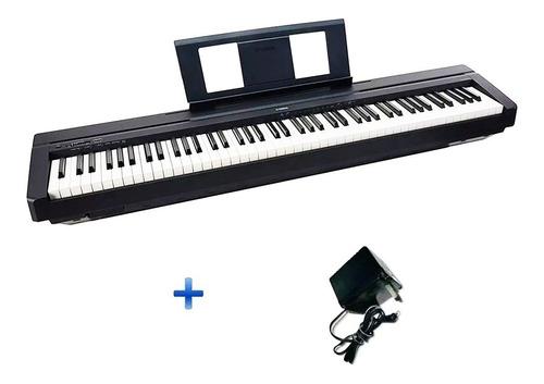 piano electrico yamaha p45b 88 tec.pesadas+fuente de regalo