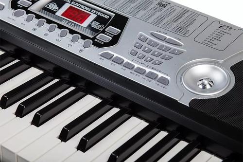 piano electrónico xy -268-54-key con pantalla led