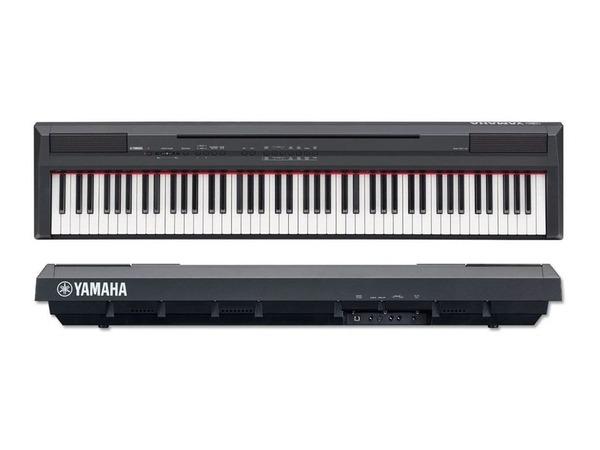 piano eletr nico digital yamaha p 105 bk r em mercado livre. Black Bedroom Furniture Sets. Home Design Ideas