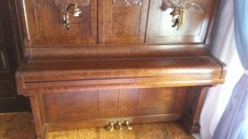piano essenfelder vertical armário 1927 teclado marfim