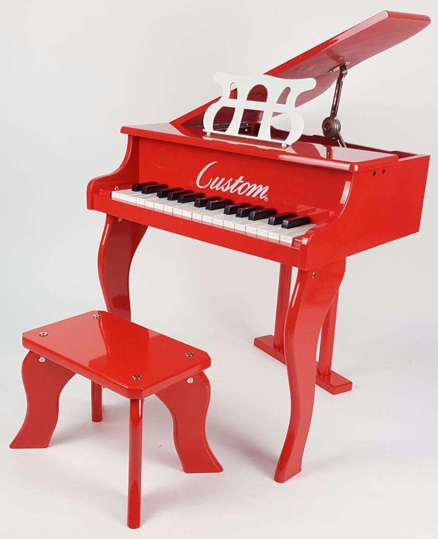 Piano Infantil Cauda Marca Custom Cor Vermelho - R  699,00 em ... 3bbec7e738