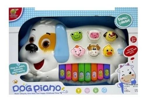 piano infantil perro juego didáctico bebe navidad