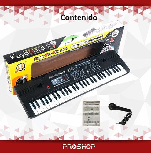 piano juguete organo
