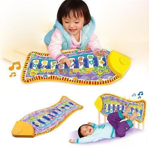 piano juguete para bebé música desde tres meses divertido