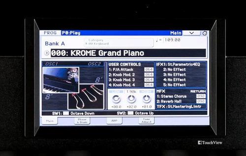 piano korg krome 61