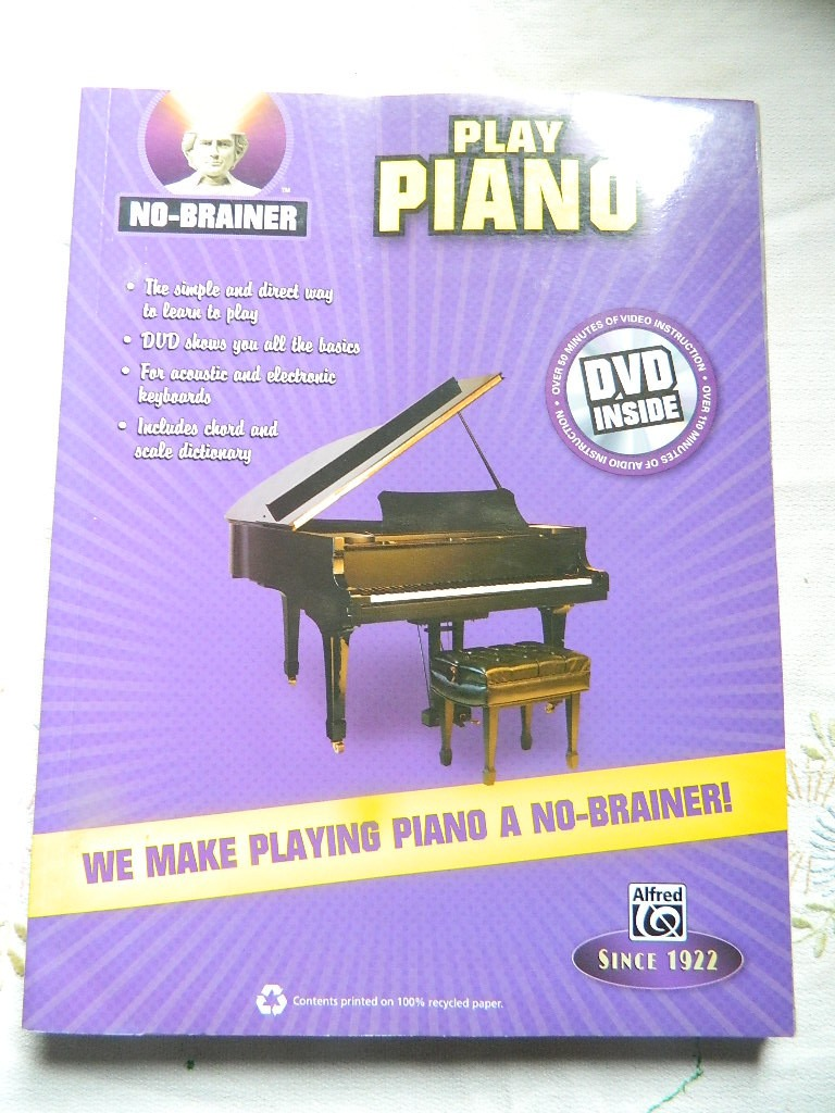 how to play piano dvd