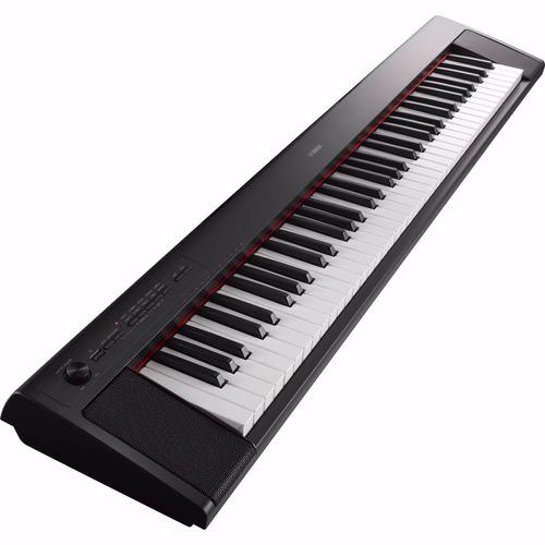 piano ligero yamaha portatil 76 teclas p32bspa
