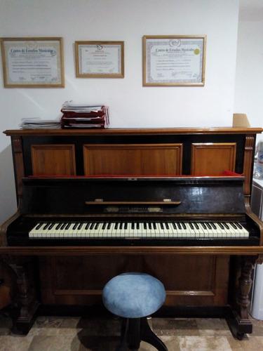 piano, música clases