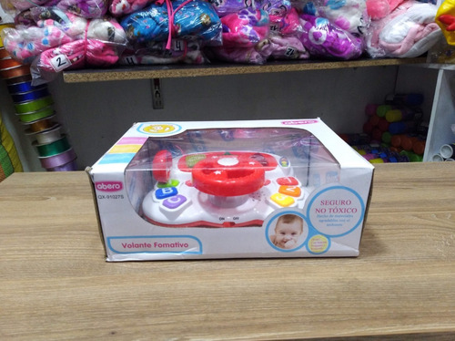 piano musical didáctico infantil volante juguete bebes
