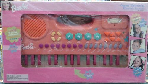 piano organo musical barbie - magic games il