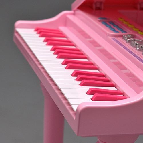 piano sinfonia infantil instrumento com gravador e microfone