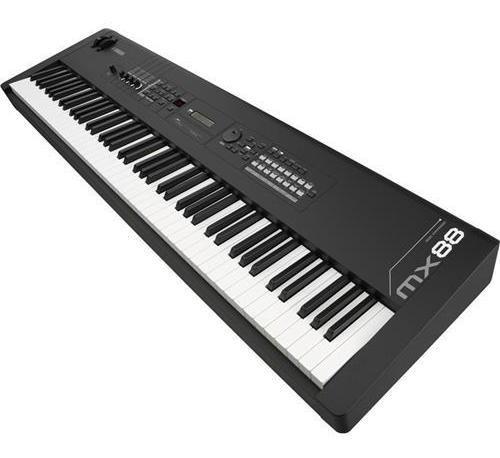 piano sintetizador con peso yamaha mx88 ghs