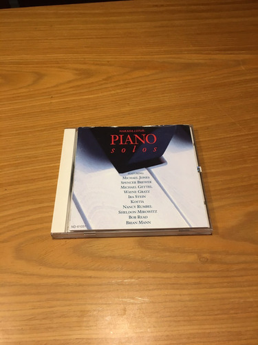 piano solos cd narada kostia bob read spencer brewer