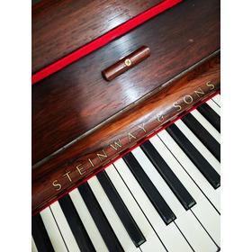 Piano Steinway & Sons,  En Excelente Estado.