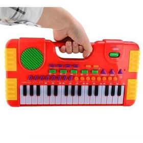 Piano Teclado Brinquedo Infantil Sons - Meninos - Meninas