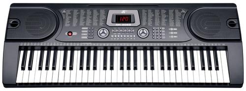 piano teclado electronico de 61 teclas