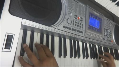 piano teclado organo electronico mp3 usb midi-regalo navidad