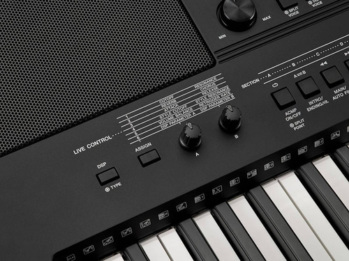 piano teclado yamaha psre 453 keyboad 5 octavas