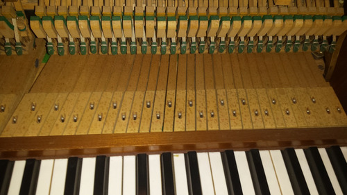 piano vertical, original schimmel de alemania, buen estado