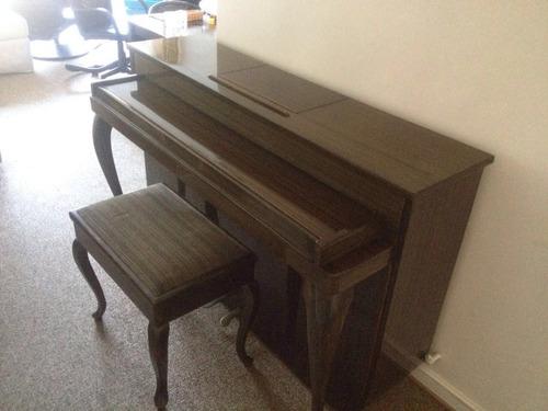 piano vertical único en chile 1.20m pieza de arte
