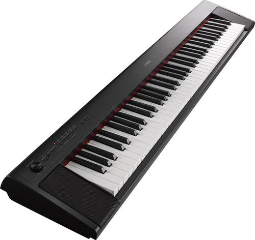 piano yamaha np-32 precio kit mueble + pedal + usb citimusic