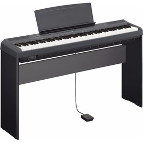 Piano Yamaha P125 Precio Combo Mueble+ Pedal + Usb Citimusic