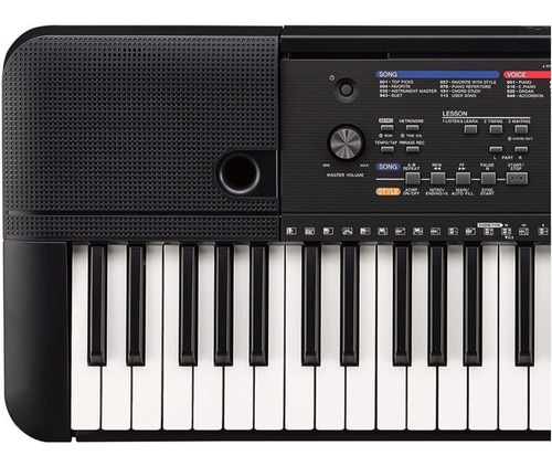 piano yamaha psr e263 con forro, dvd, atril, pa-3 citimusic