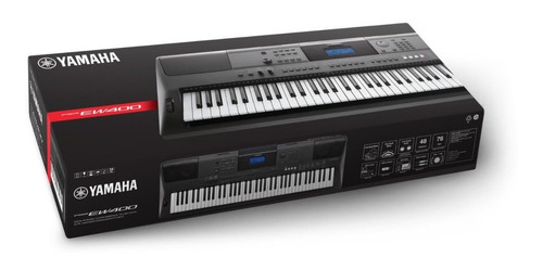 piano yamaha psr ew410 precio forro + base doble x citimusic