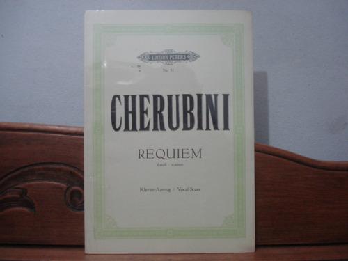 piano/vocal score requiem d-moll cherubini